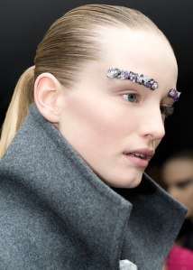 Rebecca Cotze LFW SS15 beauty trends