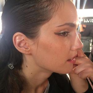 rebecca cotzec lfw ss15 david koma beauty trends