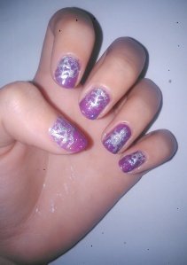 Halloween nail art how to simple spider, rebecca cotzec
