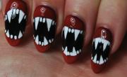 Halloween nail art how to vampire fangs rebecca cotzec halloween nail art how to fangs prinsesfo Choice Image