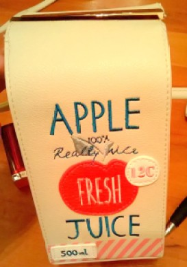Accessorize Apple Juice Bag Closing