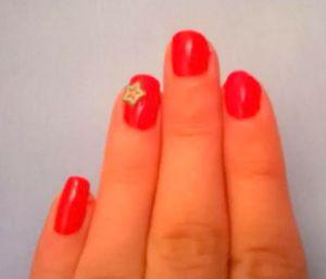 budget nail polish red review nail art