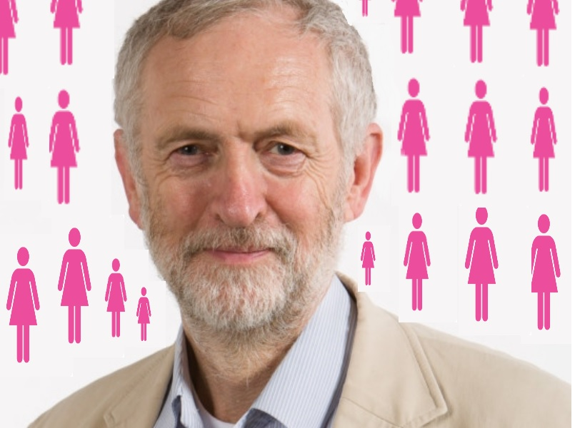 jeremy corbyn cabinet women feminism uk press
